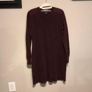 Long sleeve wool Gap Dress